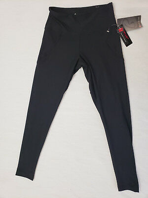 62971ece8012c BALLY TOTAL FITNESS HIGH RISE WOMENS ATHLETIC YOGA LEGGINGS MESH SIZE M for  sale USA