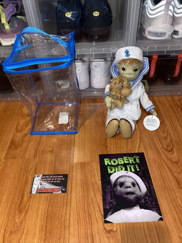 """Key West Exclusive Robert The Doll Haunted Enchanted 12"""" Doll New With Tags/Box"""