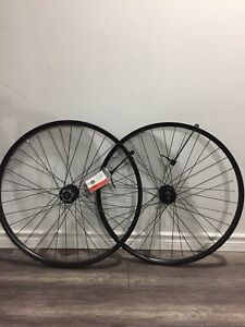 "NEW 650B 27.5"" Double Wall DISC Bicycle Wheel Rims Shimano Hubs"