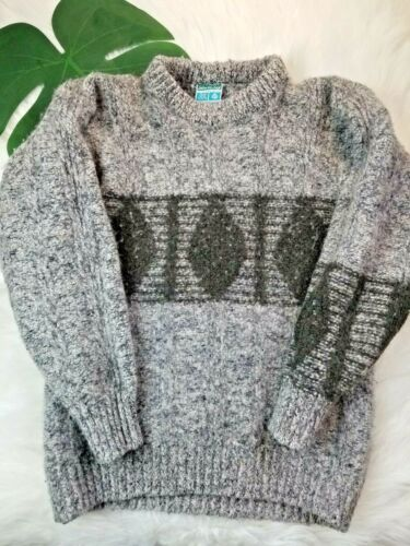 John Malloy Vintage Genuine Donegal Fashion Knit Sweater