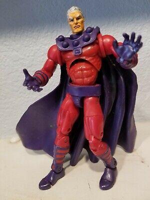 """Marvel Legends Magneto 6"""" series III Figure 2003 Toybiz NO HELMET"""