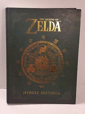 The Legend of Zelda: Hyrule Historia by Nintendo (2017, Hardcover)