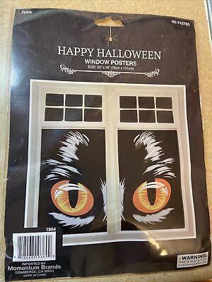 "Halloween Window Posters 30"" X 48"" (76cm X 121cm)"