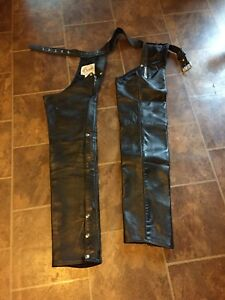 32 tall leather chaps
