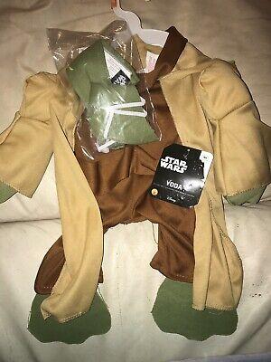 Classic Pet Yoda Dog Halloween Costume Size Med ()