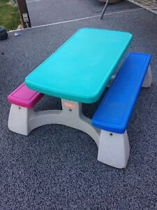 Kids fisher price table