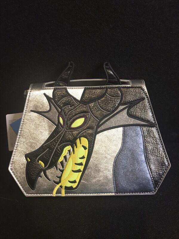 Disney Danielle Nicole Maleficent Dragon Crossbody Bag New In Hand