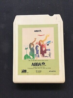 "ABBA 2 8-Track Tape The Album ""Take a Chance on Me"""