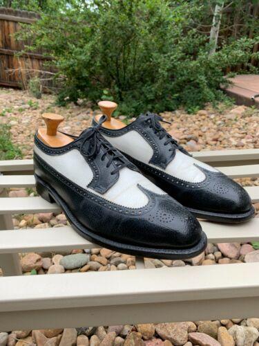 Vintage Spectator Long Wing Shoes 11/11.5