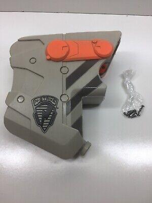 NERF N-Strike LONGSHOT CS-6 Light Gray Replacement Shoulder Butt Stock Part Only