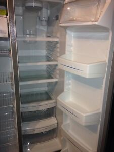 GE Appliances Stainless Steel Fridge