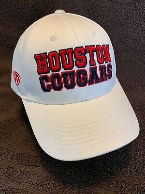 HOUSTON COUGARS NCAA TOP OF THE WORLD TEAMWORK HAT CAP ADJ SNAPBACK OSFM NWT](Houston Cougars Hat)