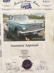 1962 Rambler for sale