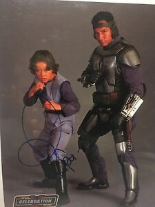 Signed boba fett picture