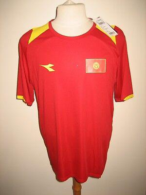 Kyrgyzstan home football shirt soccer jersey maillot trikot camiseta size L image