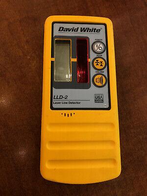 David White Lld-2 Laser Line Detector