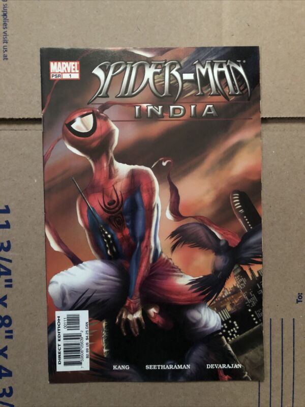 Spider-Man India #1: 1st PAVITR PRABHAKAR (Marvel, 2005)