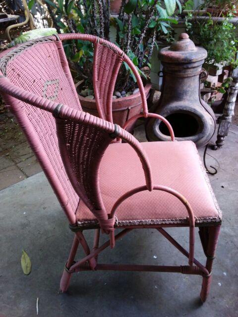 Cane wicker vintage chair   Armchairs   Gumtree Australia ...