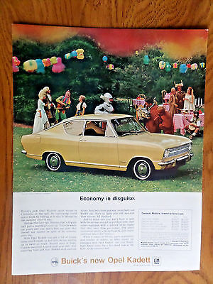 1966 Buick Opel Kadett Sport Coupe Ad  Cinderella at the Ball for sale  Tomah