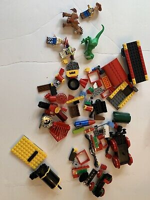 Disney Lego Toy Story Train (7597) Complete Replacement Pieces And Minifigures