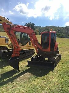 Kubota u45-3 mini excavator air con cab! Kingsholme Gold Coast North Preview