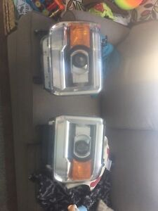 2015 GMC sierra 1500 headlight housings