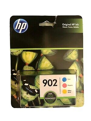3-Pack HP 902 Cyan/Magenta/Yellow Ink Cartridges (T0A38AN) *exp 03/2021+* 3 Pack Magenta Ink
