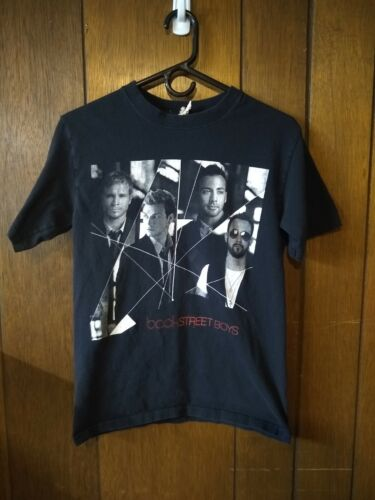 Backstreet Boys World Tour 2008 Concert Tee T-Shirt Black - Size S Small