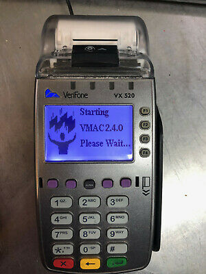 Verifone Vx520 Credit Card Machine With Cord