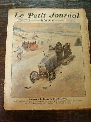 Le petit Journal illustré - 27/02/1921 - Concours de Chars du Mont Revard