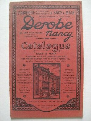 1920s Style Purses, Flapper Bags, Handbags FRENCH LEATHER HANDBAG TRADE CATALOGUE – DEROBE (1920's) - Fashion $31.10 AT vintagedancer.com