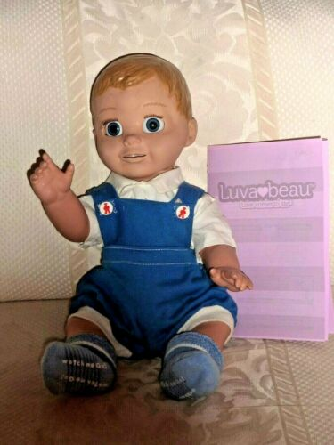 LuvaBeau Interactive Boy Doll 22700 English French Luvabella No Accessories (E1)