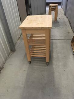 Kitchen - Outdoor -Mobile Island Work Station - Cutting board