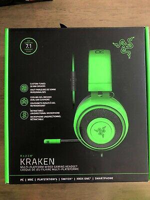 Razer Kraken Gaming Headset for PC/Xbox/PS4/Nintendo Switch Green