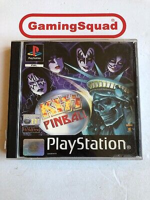 Kiss Pinball PS1, Supplied by Gaming Squad