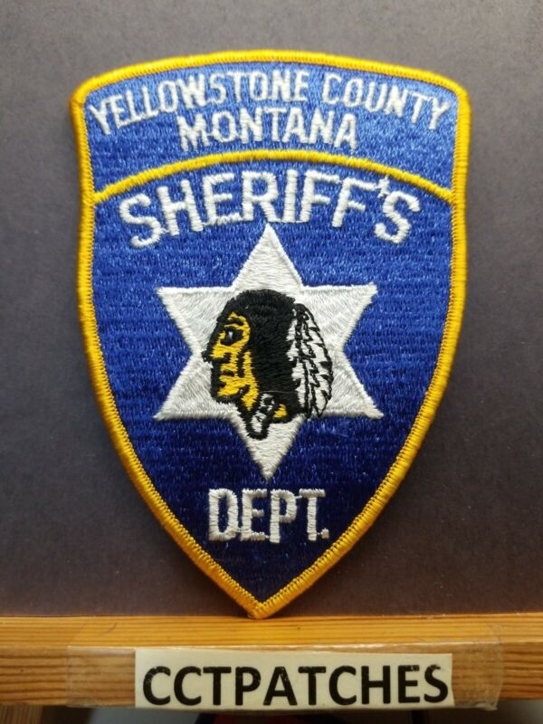 YELLOWSTONE COUNTY, MONTANA SHERIFF (POLICE) SHOULDER PATCH MT