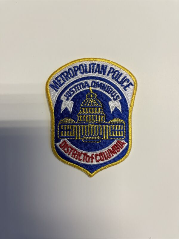 Metropolitan Police Department Washington DC small Hat Patch