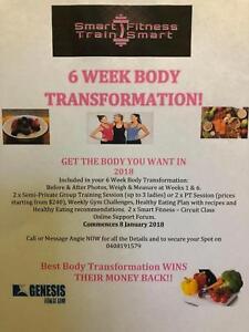 6 WEEK BODY TRANSFORMATION CHALLENGE