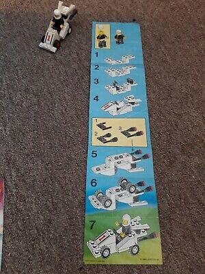 Lego Set | FORMULA-I RACER | 6604 | Vintage 1980's with instructions