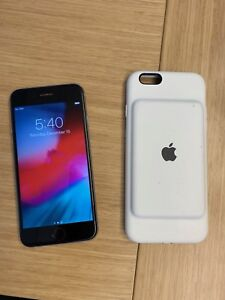 Apple iPhone 6 - 16GB - Space Grey with Apple Battery case