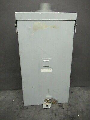 Square D Circuit Breaker Enclosure Nema 3r 100 A Max 120 240 V 1 Ph Qo2100nrb