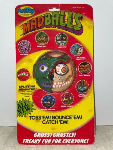 1986 Series 2 Madballs Splitting Headache MOC Sealed MINT AMToys