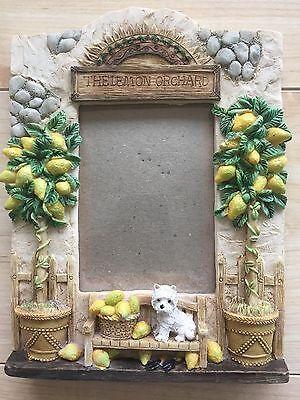 Regency Fine Arts Lemon Orchard Photo frame West Highland Terrier Westie