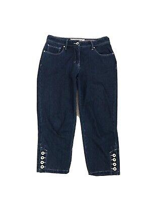 Ladies Jeans Saint James Size 10 Mid Calf Smart Quality Designer Classic