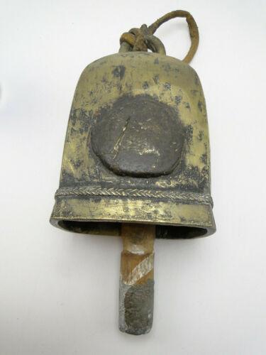 Antique Asian Burmese? Bronze Cow / Elephant Bell