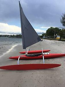 Sailing Kayak Trimaran Hope Island Gold Coast North Preview