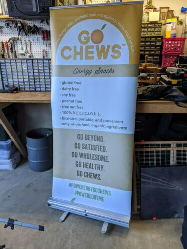 Extendable /Expandable Expo / Trade Show Sign and Stand