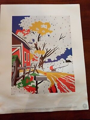 """ANDY WARHOL LITHOGRAPH PRINT """"Do It Yourself"""" 1984"""