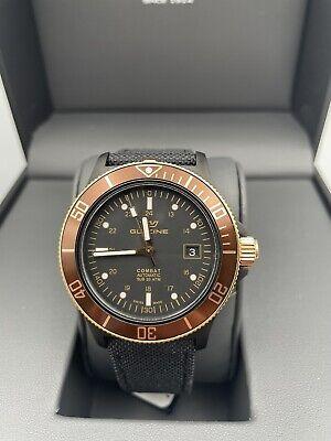 Glycine Men's Combat Sub Automatic 42mm GL0093 Black Dial Nylon Watch
