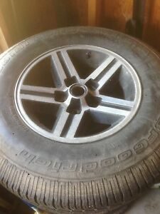 Truck tires and rims LT245/65r16
